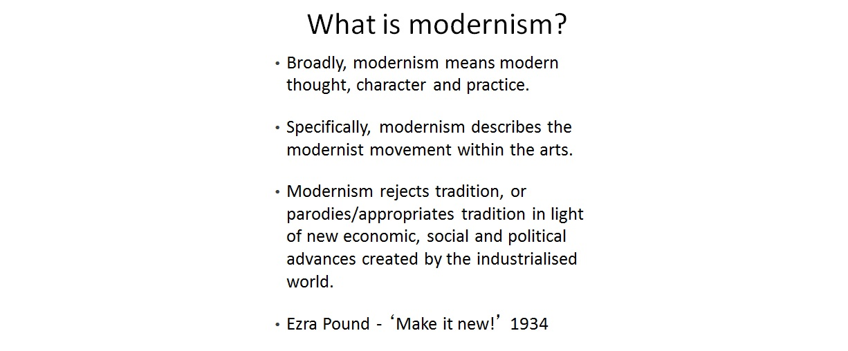 effects of modernity essay How can the answer be improved.